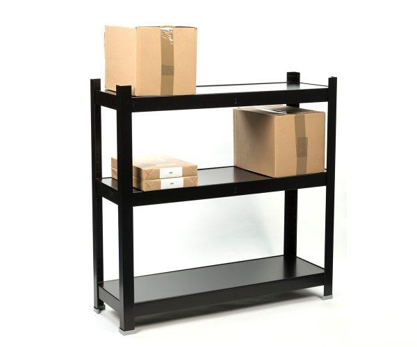 Small metal shelves