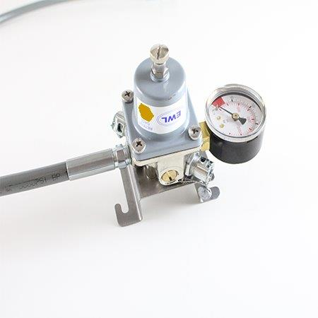ODDL CO2 Primary Regulator 24psi, Wall mounted